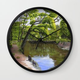 Ohoopee Spring Wall Clock