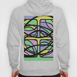Community III - Abstract, pastel pattern Hoody