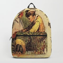 Cocaine Mouth Drops Backpack