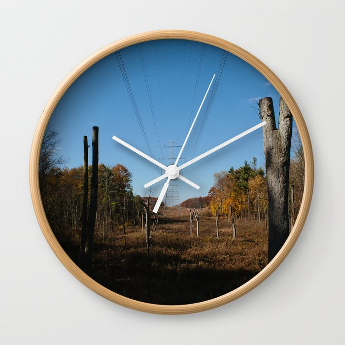 Opposing Forces Wall Clock