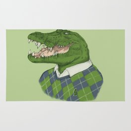 Argyle Crocodile Rug