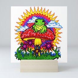 Froggy For Mukunda Mini Art Print