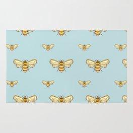 Bumblebee on Mint Rug