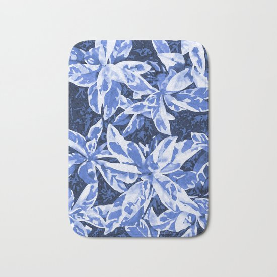Aloha Blue Bath Mat