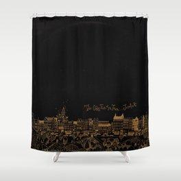 Josef K Shower Curtain