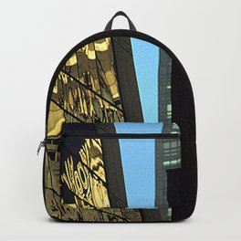 Reflections of New York City Backpack