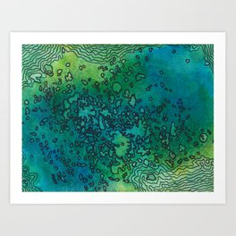 South Pacific Art Print