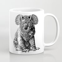 bioworkz Mugs featuring Koala by BIOWORKZ