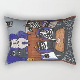 Halloween Cats Ouija Board Rectangular Pillow