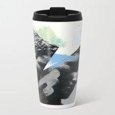 Untitled (Painted Composition 1) Metal Travel Mug
