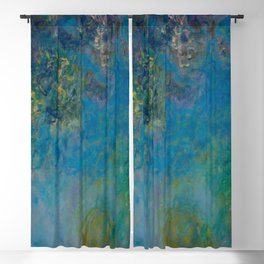 Wisteria by Claude Monet 1925 Blackout Curtain