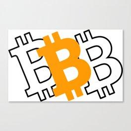 Bitcoin 16 Canvas Print