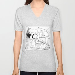 asc 547 - My New Year's resolutions - August Unisex V-Neck
