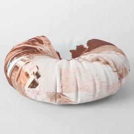 Retro Camper Boho Desert Floor Pillow