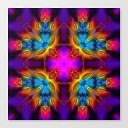 Kaleidoscope No.60 Canvas Print