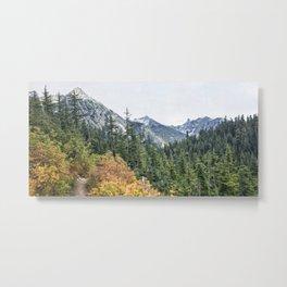 Northern Cascade Mountains Metal Print