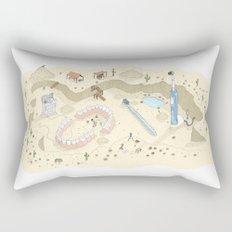 Dental Artifacts Rectangular Pillow