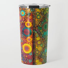 Bubble Mosaic Travel Mug