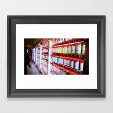 Pantone Pods Framed Art Print