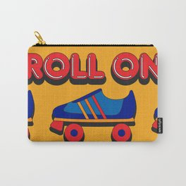 Roll On Rollerskate Carry-All Pouch
