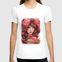 strawberry T-shirts featuring Strawberry  by Sheena Pike ART