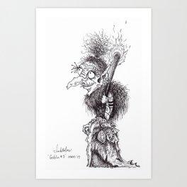 Goblin: Inktober #5 Art Print