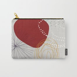modern abstract VI Carry-All Pouch