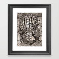 The Owl & The Raven Framed Art Print