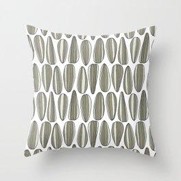 sunflower seeds Throw Pillow