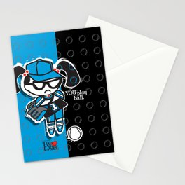 BAD GRACE: Play Ball Stationery Cards