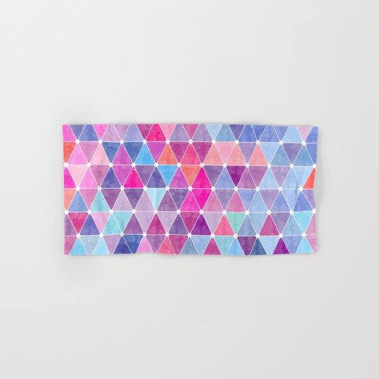 Lovely geometric Pattern Hand & Bath Towel