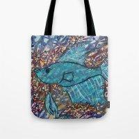 finn Tote Bags featuring Finn by fawnadine