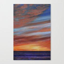Copper Twilight (2) Canvas Print