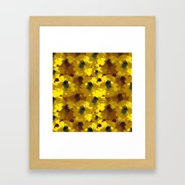 Busy Bee Design Framed Art Print