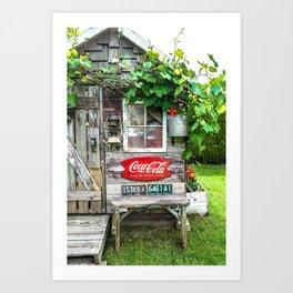 Summer Shed Art Print