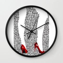 9 Crimes Wall Clock