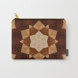 Decorated in brown Carry-All Pouch