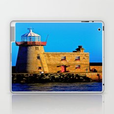 Howth Lighthouse Morning Laptop & iPad Skin