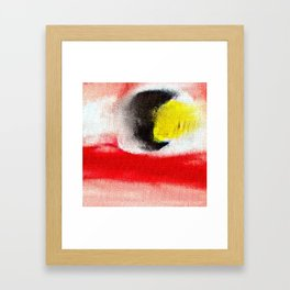 Abstract art. A painting for Tomie Ohtake Framed Art Print