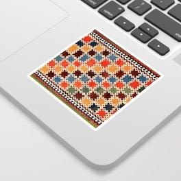 Qashqa'i Fars Southwest Persian Kilim Print Sticker
