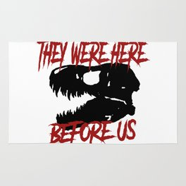 They were here before us Rug