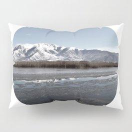 Frozen Lake Pillow Sham