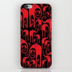 Elephant Herd iPhone & iPod Skin