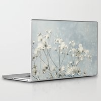 sale Laptop & iPad Skins featuring White Sale by V. Sanderson / Chickens in the Trees