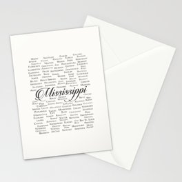 Mississippi Stationery Cards