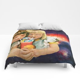 Exoplanet Cocktail Comforters