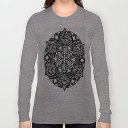 Flower Mandala Long Sleeve T-shirt