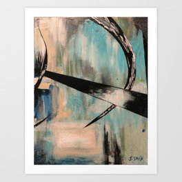 Blue Part 2 Art Print