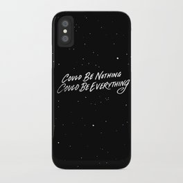 Could be nothing iPhone Case