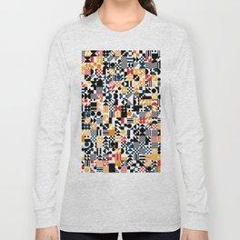 RAND PATTERNS #124: Procedural Art Long Sleeve T-shirt
